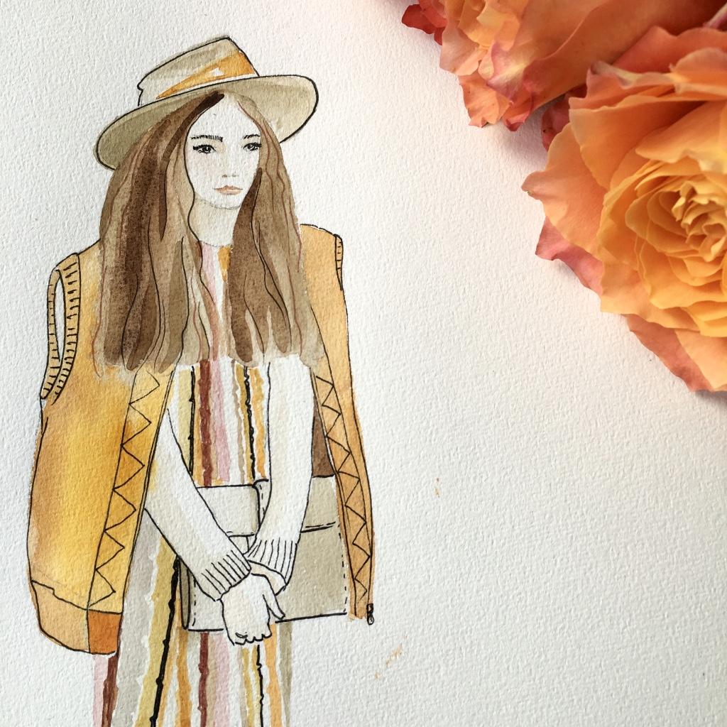 2017 fashion autumn - Victoria Arnold 187 Illustration 187 Autumn