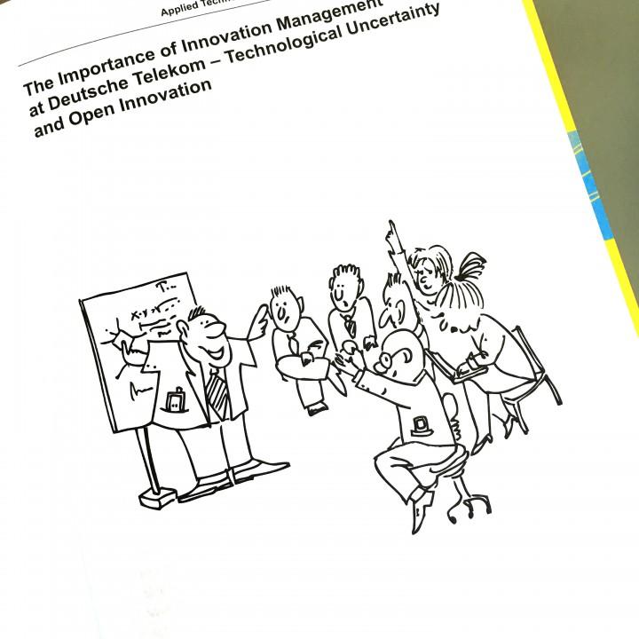 Illustration for a management book