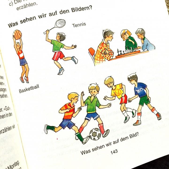 School book illustration