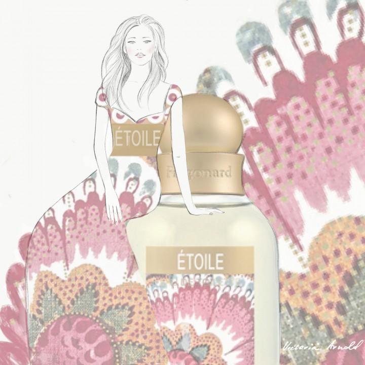 Fragonard Etoile Parfum Illustration